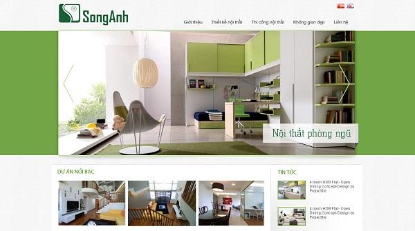 Những lưu ý khi thiết kế website nội thất