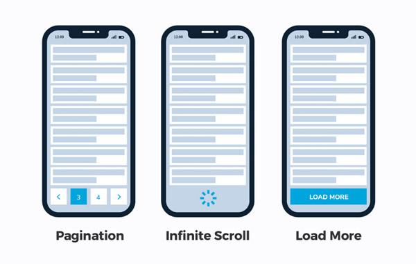 Tải cuộn nội dung thông minh để tăng trải nghiệm người dùng