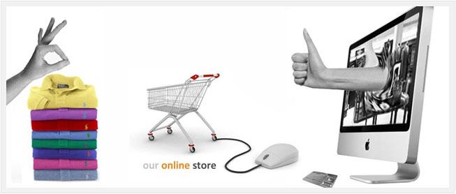 Để bán hàng trực tuyến trên internet