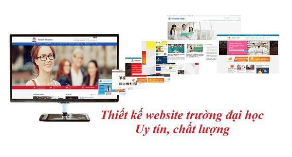 Thiết kế website trường đại học cao đẳng uy tín chất lượng